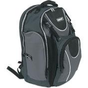Vaultz® Locking Backpack, 15 x 7 x 19, Black