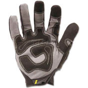 Ironclad IRNGUG05XL General Utility Spandex Gloves, 1 Pair, Black, X-Large