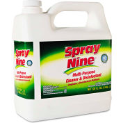 Spray Nine® Multi-Purpose Cleaner & Disinfectant, Gallon Bottle 4/Case - ITW268014CT
