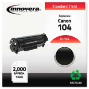 Innovera® 0263B001AA 104 Toner Cartridge, 2000 Page Yield, Black