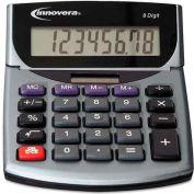 Innovera® 15925 Portable Minidesk Calculator, 8-Digit LCD