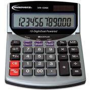 Innovera® 15968 Compact Desktop Calculator, 12-Digit LCD