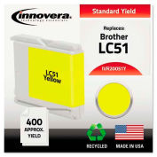 Innovera® 20051Y Compatible, Remanufactured, LC51Y Ink, 400 Page-Yield, Yellow