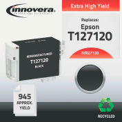 Innovera® 27120 Compatible Reman T127120 (T-127) Ink, 945 Page-Yield, Black