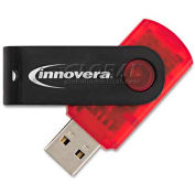 Innovera IVR37608 USB 2.0 Flash Drive, 8GB