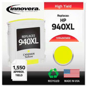 Innovera® 4909AN Compatible, Remanufactured, C4909AN (940XL) Ink, 1400 Page-Yield, Yellow