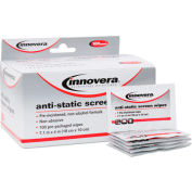 Innovera Screen Alcohol-free Cleaning Wipes, 100/Pack - IVR51516