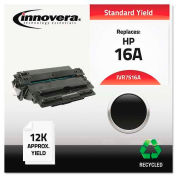 Innovera® 7516A Compatible, Remanufactured, Q7516A (16A) Laser Toner, 12000 Yield, Black