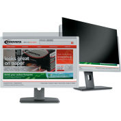 """Innovera® Black-Out Privacy Filter for 24"""" Widescreen LCD, 16:10"""
