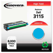 Innovera® D3115C High-Yield Toner Cartridge, 8000 Page Yield, Cyan