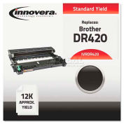 Innovera® DR420 Compatible, Remanufactured, DR420 Drum, 12000 Page-Yield, Black