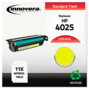 Innovera® E262A Compatible, Remanufactured, CE262A (648A) Laser Toner, 11000 Yield, Yellow