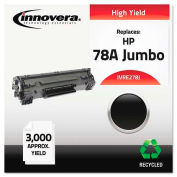 Innovera® E278J Compatible, Remanufactured, CE278A(J) (78A) Laser Toner, 3100 Yield, Black