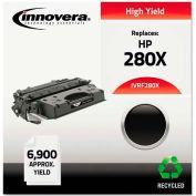 Innovera® F280X Compatible, Reman, CF280X (80X) High-Yield Toner, 6900 Page-Yield, Black