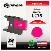 Innovera® Compatible Remanufactured High-Yield LC75M Ink, 600 Page-Yield, Magenta
