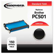 Innovera® PC501 Compatible, Remanufactured, PC501 Thermal Transfer, 150 Page-Yield, Black