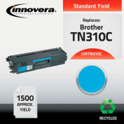 Innovera® TN310C Compatible Reman (TN-310) Toner, 1500 Page-Yield, Cyan