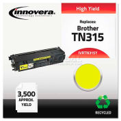 Innovera® TN315Y Compatible, Remanufactured, TN315Y (TN315) Toner, 3500 Yield, Yellow