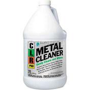 CLR Metal Cleaner, Gallon Bottle, 4 Bottles/Case - JELCLRMC4PRO