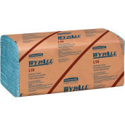 WypAll L10 Windshield Towels, 9-1/10 x 10-1/4, 1-Ply, L-Blue, 224/Pack, 10 Packs/Carton - KCC 05123