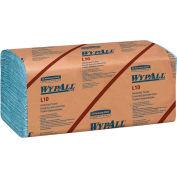 WypAll L10 Windshield Towels, 9-1/10 x 10-1/4, 1-Ply, L-Blue, 224/Pack, 10 Packs/Carton - KCC 05123