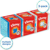 Kleenex® Boutique Anti-Viral Facial Tissue, 3ply, Pop-Up Box - KCC 21286