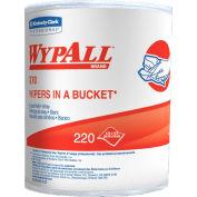 WypAll Bucket Wiper Refills, 220 Wipes/Roll 3/Case - KCC83571