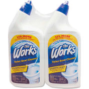 The Works® Disinfectant Toilet Bowl Cleaner, 32oz Bottle 2/Pack - KIK33302WK
