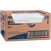 "Wypall X80 Foodservice Paper Towel, 12-1/2"" X 23-1/2"", White/Blue, 150/Case - KIM06280"