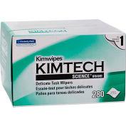 """Kimberly-Clark Kimtech Science Kimwipes Tissue, 4-2/5"""" X 8-2/5"""", 30 Boxes/Case - KIM34120"""