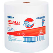"""Wypall X70 Perforated Wipes, Jumbo Roll, 12-1/2"""" X 13-2/5"""", White, 870/Roll - KIM41600"""
