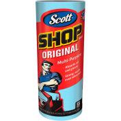 """Scott Shop Towels, 10-2/5"""" X 11"""", Blue, 30 Cans/Case - KIM75130"""