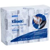 "Kleenex Multifold Paper Towels, 9-1/5"" X 9-2/5"", White, 16/Case - KIM88130"