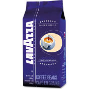 Lavazza Super Crema Espresso Coffee, Regular, 2.2 Lb. Bag, Vacuum Packed With One Way Valve