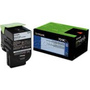 Lexmark™ 70C10K0 Toner (LEX-701K) 1000 Page-Yield, Black