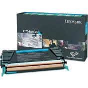 Lexmark™ C746A1CG Toner, 7000 Page-Yield, Cyan