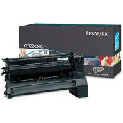 Lexmark™ C782X2KG Toner, 15000 Page-Yield, Black