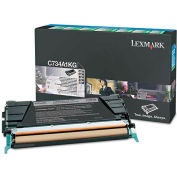 Lexmark™ X746H1KG High-Yield Toner, 12000 Page-Yield, Black
