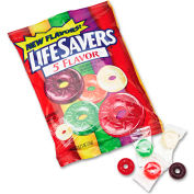 Lifesavers® Hard Candy, Assorted, Individually Wrapped, 6.25 Oz Bag