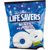Lifesavers® Hard Candy, Pep-O-Mint, Individually Wrapped, 6.25 Oz Bag
