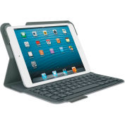 Logitech® Ultrathin Keyboard Folio for iPad Mini, Gray