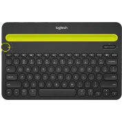 Logitech® K480 Bluetooth Multi-Device Keyboard, Bluetooth, 12 1/5 x 1 3/5 x 7 9/10, Black