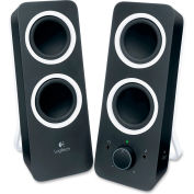 Logitech 980-000800 Z200 Stereo Speakers with Bass Control, Black