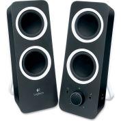 Logitech® Z200 Multimedia Speakers, Black