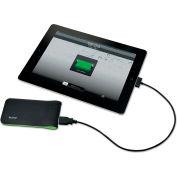 Leitz® Mobile Battery Pack, USB, Black