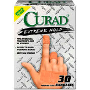 Curad CUR14924 Extreme Hold Bandages, Assorted Sizes, 30/Box