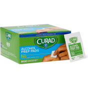 Curad® Sterile Alcohol Prep Pads, Medium, 2-Ply, 200/Box