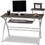 "Mayline Vision Desk, 47-1/4""x27""x34"", Anthracite"