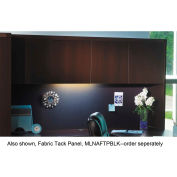 "Mayline AHW72LDC Aberdeen Series Laminate Wood Door Hutch, 72""W x 15""D x 39-1/4""H, Mocha"