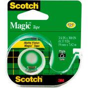"""Scotch® Magic Tape w/Refillable Dispenser, 3/4"""" x 300"""", Clear"""